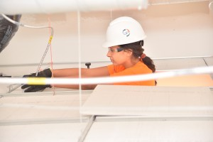 Woman UPCO Electrician